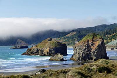 Photograph - Oregon Coast Brookings 4 by Jeff Brunton