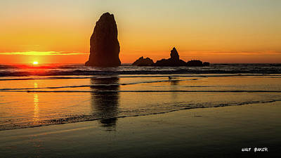 Photograph - Oregon Coast by Walt Baker