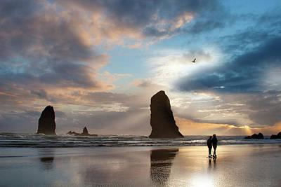 Oregon Coastine Art Print