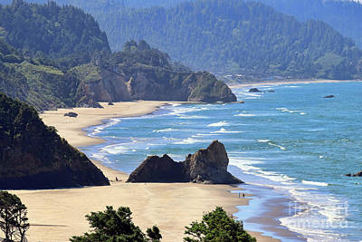 Photograph - Oregon Coastline 2251 by Jack Schultz