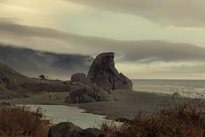 Photograph - Oregon Coastline Rock Formation by Patricia Strand