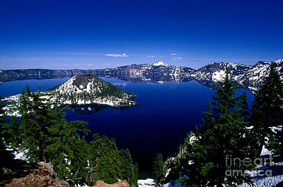 Photograph - Oregon - Crater Lake 2 by Terry Elniski