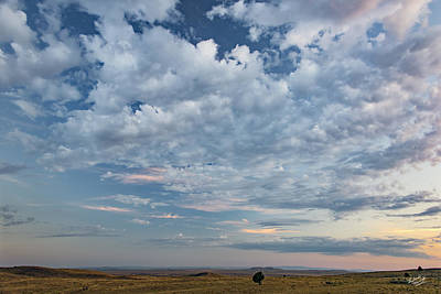 Photograph - Oregon High Desert Cloudscape by Leland D Howard