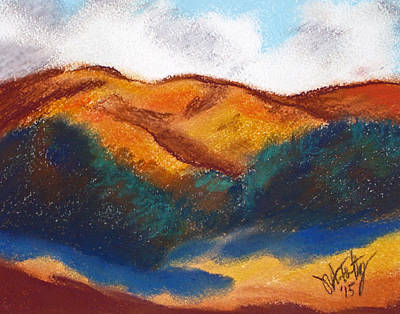 Painting - Oregon Hills by Michael Foltz