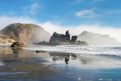Photograph - Oregon Mists Clearing by Greg Nyquist
