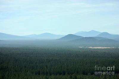 Photograph - Oregon Misty Mountains by Carol Groenen