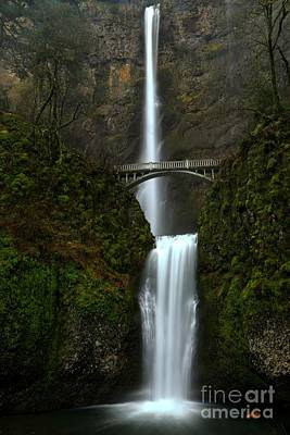 Photograph - Oregon Multnomah Falls by Adam Jewell