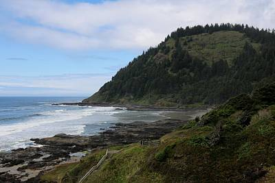 Photograph - Oregon Ocean View - 7 by Christy Pooschke