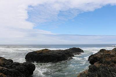 Photograph - Oregon Ocean View  by Christy Pooschke