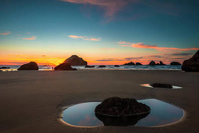 Photograph - Oregon Reflections by Andrew Soundarajan