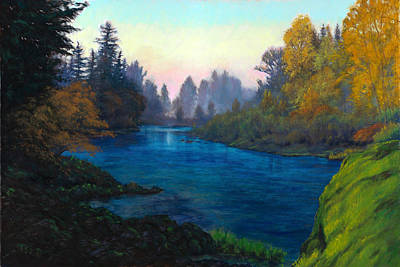 Oregon Santiam Landscape Art Print by Michael Orwick