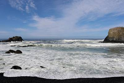 Photograph - Oregon Shore - 1  by Christy Pooschke