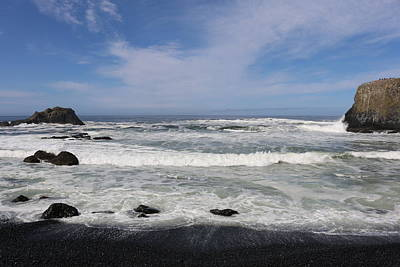 Photograph - Oregon Shore - 2 by Christy Pooschke