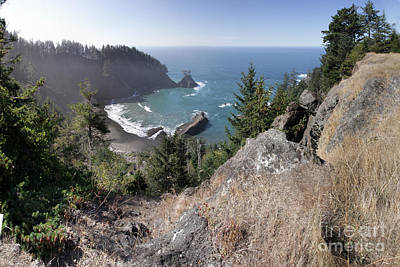 Photograph - Samuel H. Boardman State Oregon South Coast 2015 by California Views Mr Pat Hathaway Archives