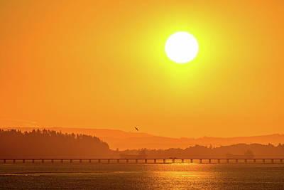Photograph - Oregon Sunrise by Debbie Ann Powell