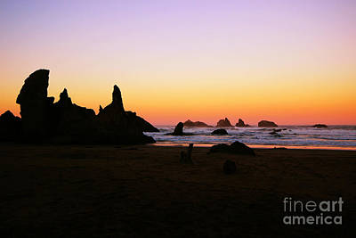 Photograph - Oregon Sunrise by Jenny Revitz Soper