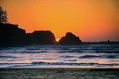 Photograph - Oregon Sunset by Bryan Carter
