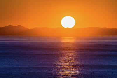 Photograph - Oregon Sunset by Debbie Ann Powell