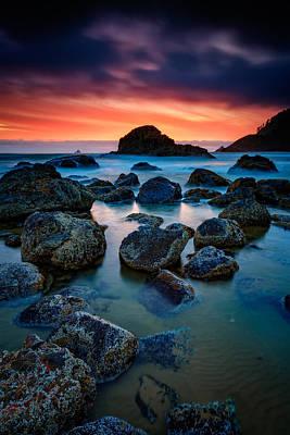 Photograph - Oregon Sunset by Rick Berk