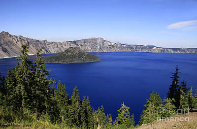 Oregons Crater Lake Art Print