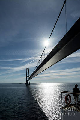 Photograph - Oresund Bridge by Paolo Sirtori