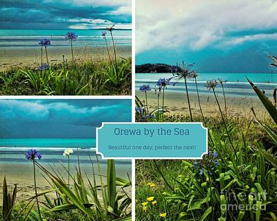 Photograph - Orewa By The Sea by Karen Lewis