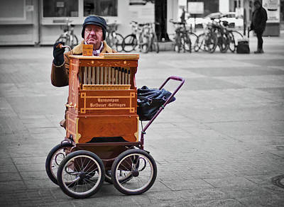 Photograph - Organ Grinder by Tatiana Travelways