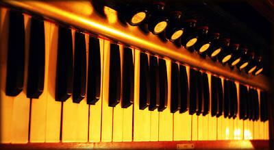 Photograph - Organ Keys by Susie Weaver