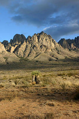Photograph - Sundown In The Organ Mountains by Jack Pumphrey
