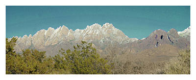 Photograph -  Organ Mountains After The First Snow by Jack Pumphrey