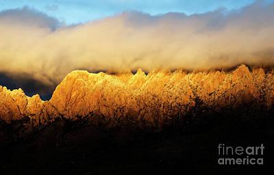 Organ  Mountains Alpen Glow Art Print by Bob Christopher