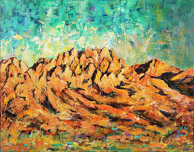 Painting - Organ Mountains IIi by Sally Quillin