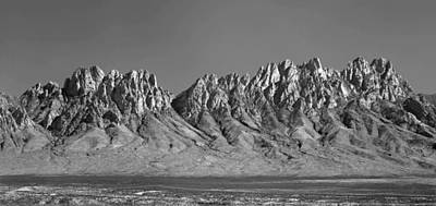 Photograph - 214878-organ Mountains Panorama     by Ed  Cooper Photography