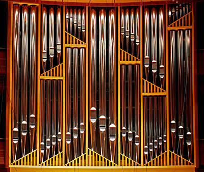 Photograph - Organ Opus 76 - Philadelphia by Rona Black