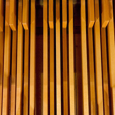 Photograph - Organ Pedals by Jenny Setchell