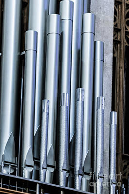 Photograph - Organ Pipes II by Thomas Marchessault