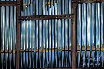 Photograph - Organ Pipes by Thomas Marchessault