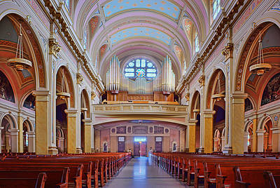 Photograph - Organ - Saint Mary Of The Angels - Chicago by Nikolyn McDonald