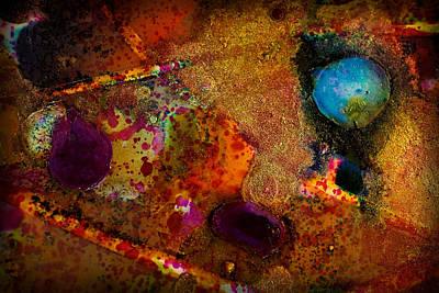 Organic Abstract 11 Art Print by Lilia D