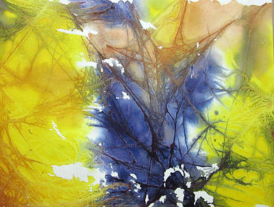 Painting - Organic Abstract by Monique Montney