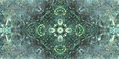 Organic Emblem In Green Original by Jacob Bettany