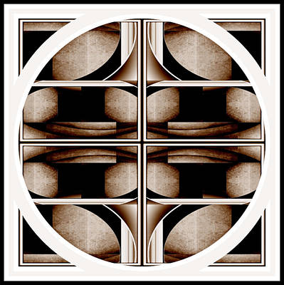Digital Art - Organic Symmetry by Jack Dillhunt