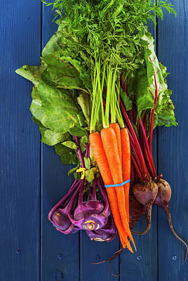 Organic Vegetables Art Print