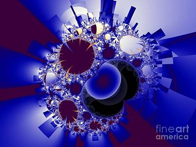 Fractal Image Digital Art - Organics And Geometry by Ron Bissett