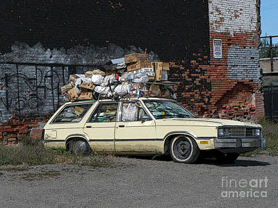Photograph - Organized Chaos - Digital Art by Carol Groenen