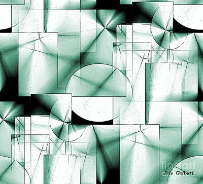 Digital Art - Organized  Maze by Iris Gelbart
