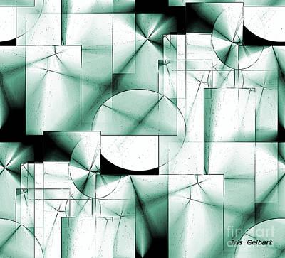 Digital Art - Organized  Maze by Iris Gelbart