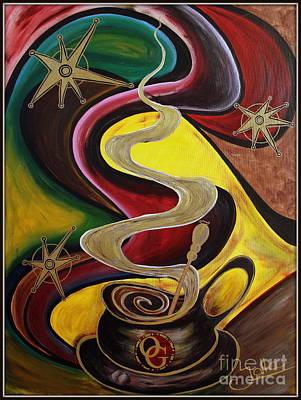 Painting - Organo Gold by Jolanta Anna Karolska