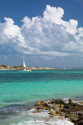 Photograph - Orient Beach Catamaran by Brian Jannsen