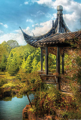 Photograph - Orient - From A Chinese Fairytale by Mike Savad